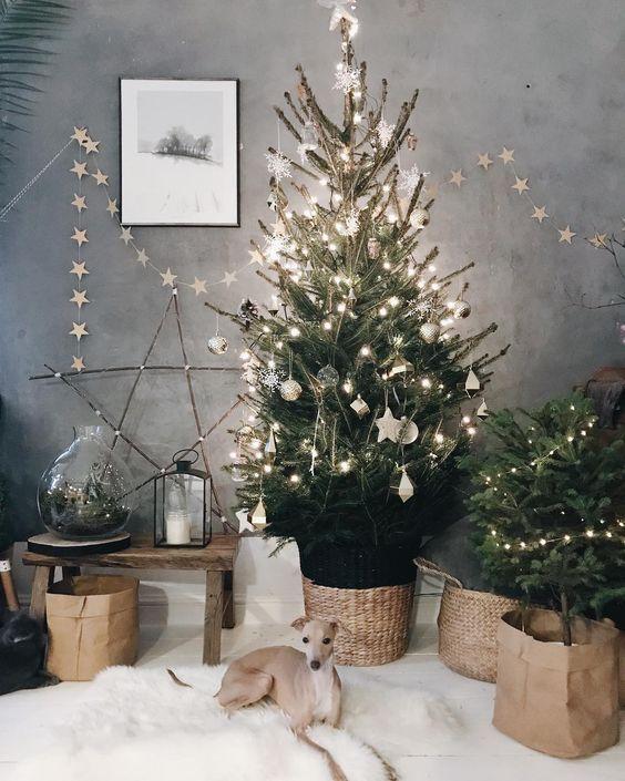 decoración original para Navidad