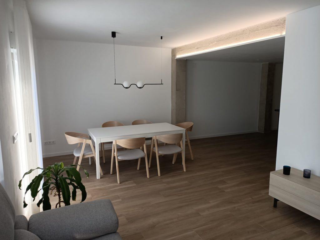 vivienda reformada espacios abiertos tresitres